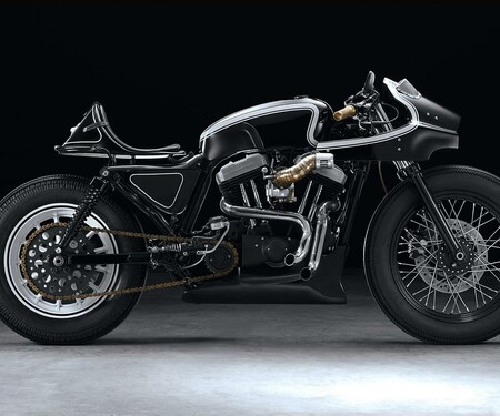 Harley Sportster Cafe Racer Umbau von Beautiful Machines