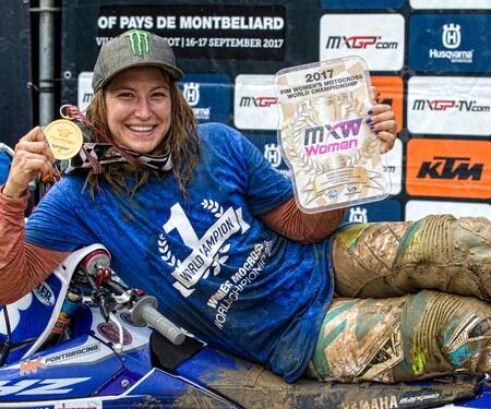 Fünfter Motocross-Weltmeister-Titel für Kiara Fontanesi