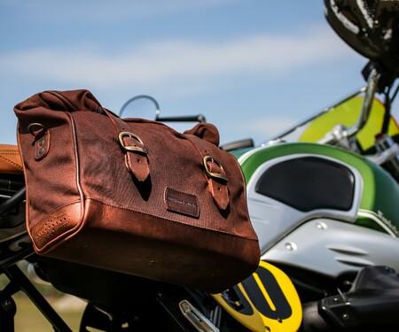 Retro-Seitentaschen für BMW R nineT Modelle von Wunderlich