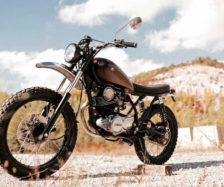 Yamaha SR250 Umbau von Retro Bikes Croatia