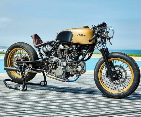 """Ducati Sprint Racer """"Frankenstein"""" Umbau von Mellow Motorcycles"""