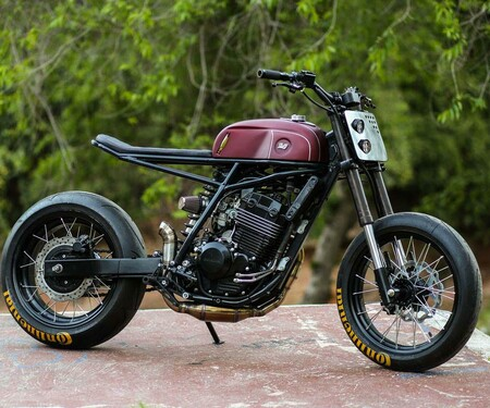 Honda XR250 Umbau von Lucky Customs