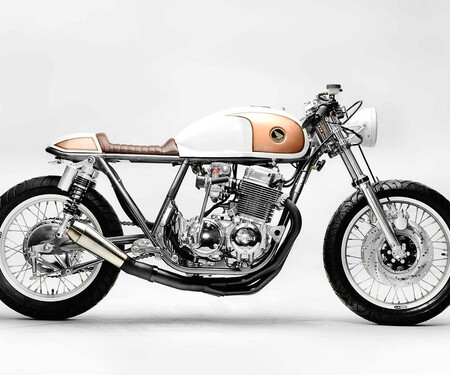 "Honda CB750 ""The Goldenrod"" von Steel Bent Customs"