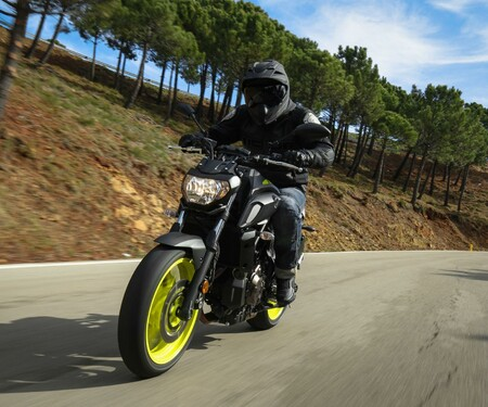 Yamaha MT-07 2018 Test