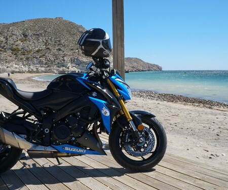 Suzuki GSX-S 1000 - Test in Mojacar