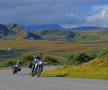 Motorradfahren in Schottland mit Feelgood-Reisen