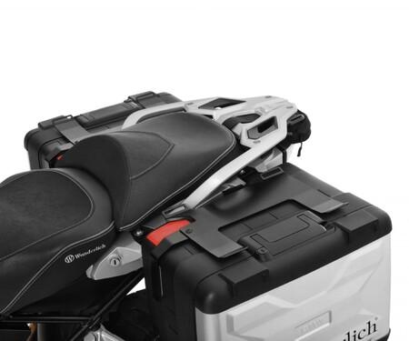 BMW-Wunderlich Gepäckaufnahmen: Für Sack und Pack