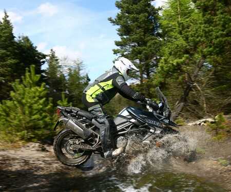 Triumph Adventure Experience Wales