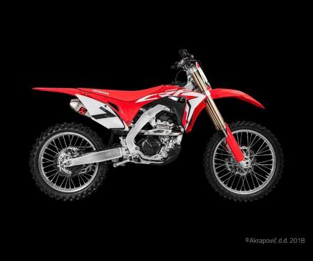 Akrapovic für die Honda CRF250R 2018