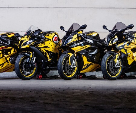 Die Dunlop TT Bikes