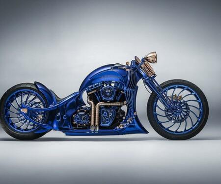 Blue Edition - die teuerste Harley-Davidson aller Zeiten