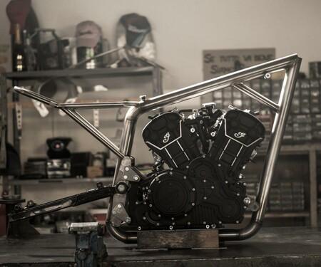 Indian Flat Tracker Shrimp von Anvil Motociclette