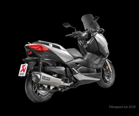Akrapovic für den Yamaha X-Max 400 2018