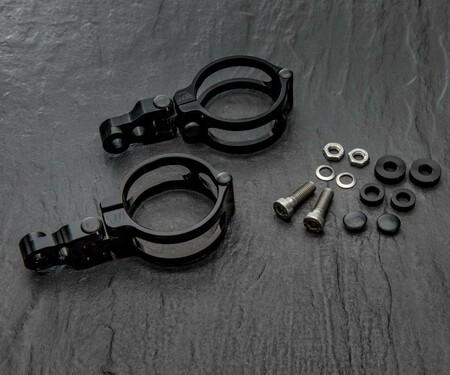 Neue Motorrad-Lampenhalterung von WUNDERKIND-Custom