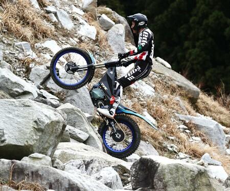 Yamaha trat mit Elektro-Trial- Bike TY-E beim Trial-E Cup an