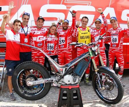 GasGas TXE E-Trial gewinnt die TrialE World Championship