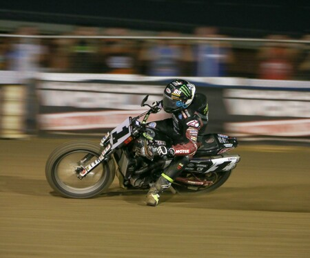 Jared Mees bei der American Flat Track Championship