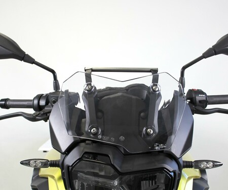 Neue GPS-Halterung von Hornig für BMW F750 GS
