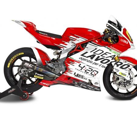 MV Agusta präsentiert Moto2 Forward Racing Team für 2019