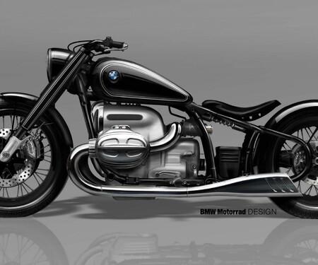 BMW R 18 Concept - 1800ccm Boxermotor Cruiser von BMW