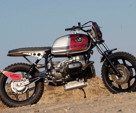 BMW R 80 RT - SCRAMBLER-like