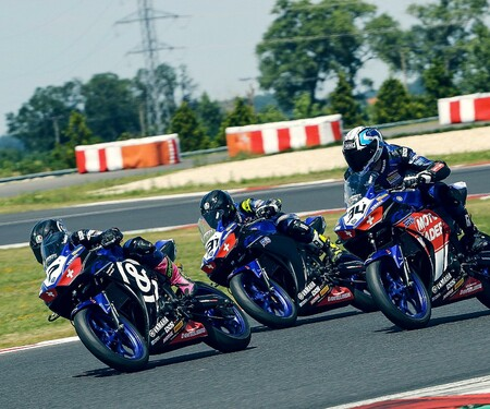 Yamaha R3 Cup: Dritter Lauf am Slovakiaring