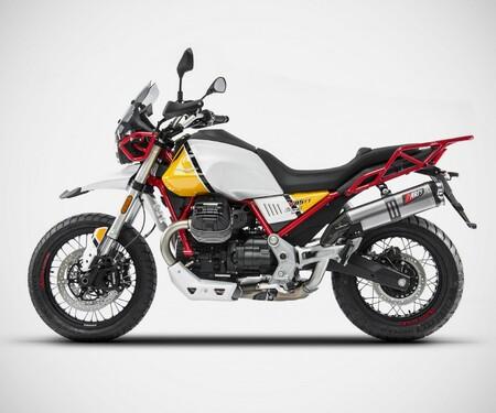 Zard Auspuff für die Moto Guzzi V85 TT