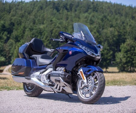 Honda Gold Wing Tour DCT 2019 Test