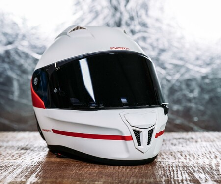 Schuberth SR2 in Horizon Red