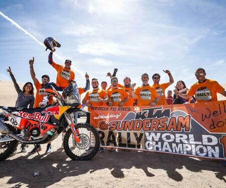 Sam Sunderland gewinnt mit KTM die FIM Rally WM 2019