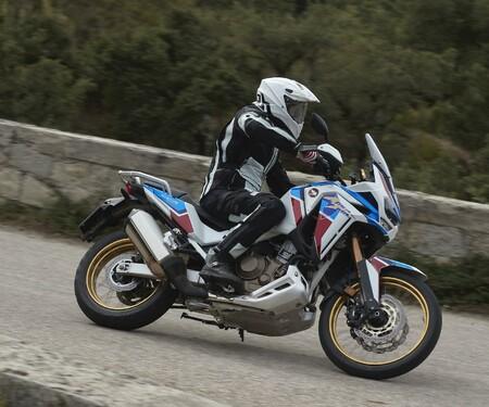 Honda CRF 1100 L Adventure Sports Test der Reissenduro