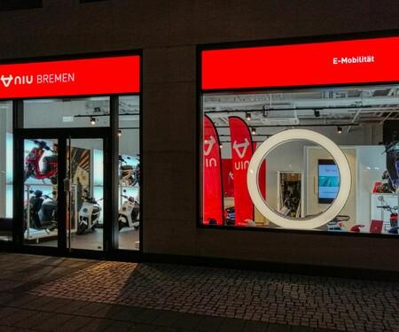 NIU Flagship-Store in Bremen