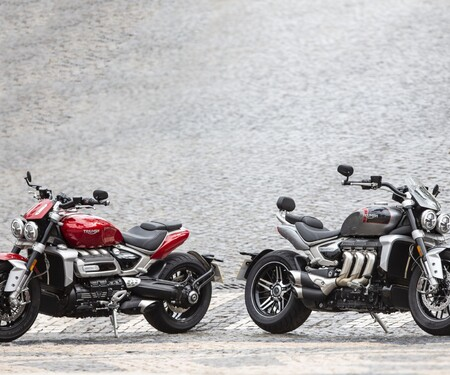 Triumph Rocket 3 2020 Test