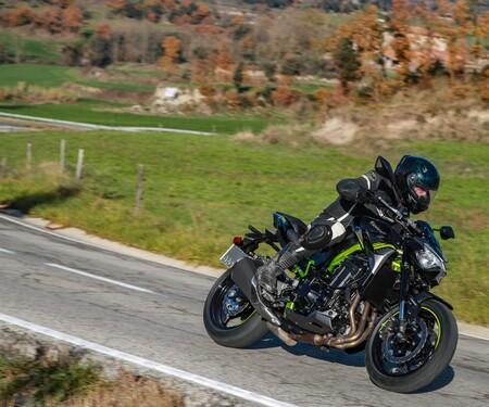 Kawasaki Z900 2020 Test in Spanien