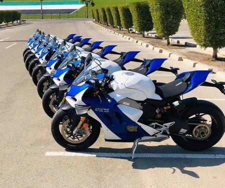 Polizeimotorräder in Deutschland, Österreich und UAE