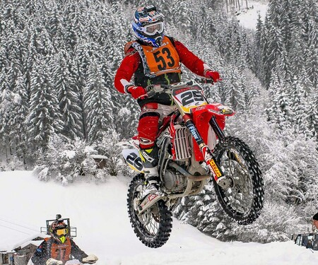 Motorsport im Schnee - Enduro Trophy und Central Europe Snowcross Trophy 2020