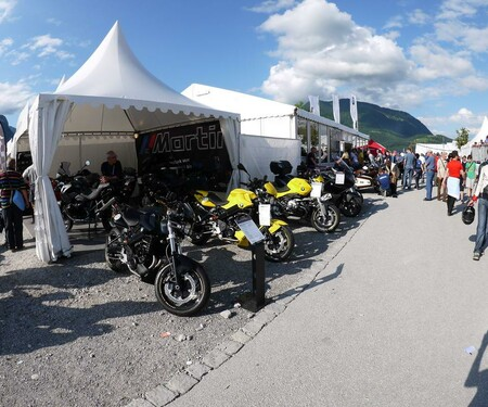 BMW-Martin bei den BMW-Days 2012