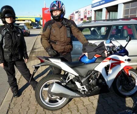Alpentour mit Honda CBR 250