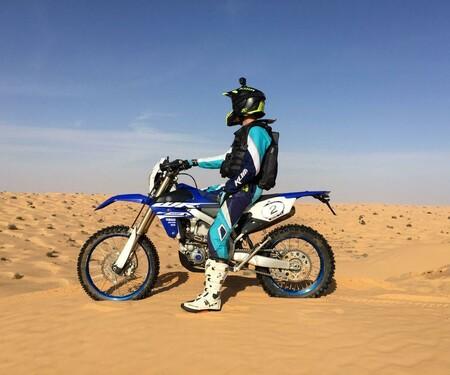 Yamaha WR450F goes Wüste
