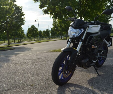Yamaha MT-125 Test