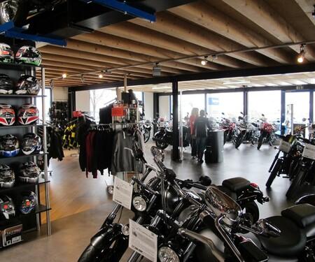SK-Bikes Ausstellungsräume