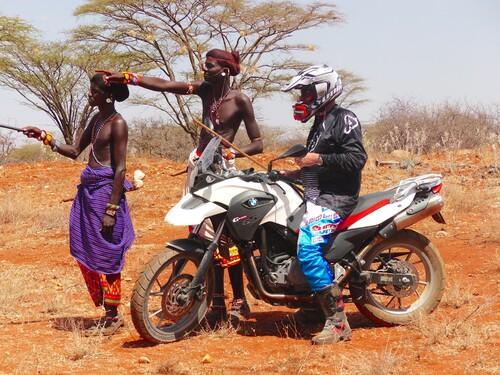 Kenia BMW-GS