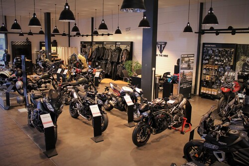 Triumph Showroom