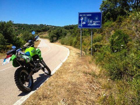 Motorrad Bild: Sommer, Sonne, Sardinien!