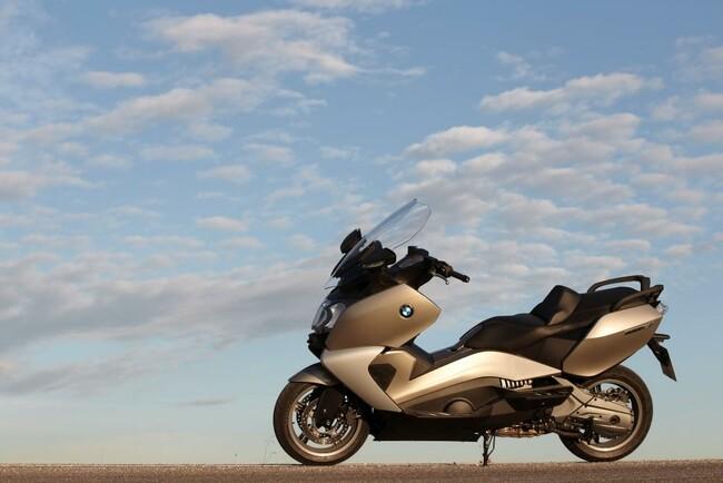 Motorrad Bild: BMW C 650 GT Roller