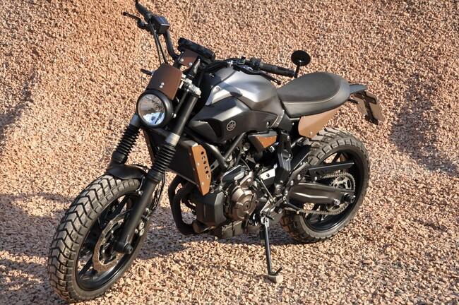 Motorrad Bild: Yamaha MT-07 von Thomas Neus, Pernze