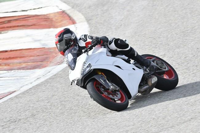 Motorrad Bild: Ducati Supersport 2017 Test