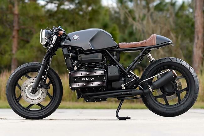Motorrad Bild: BMW K100RS Cafe Racer Umbau von Hageman Motorcycles