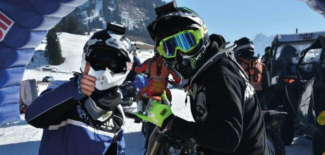 Motorrad Bild: Yamaha Action Team gewinnt BHV-Alpen-Challenge-Winter-Cup-2017