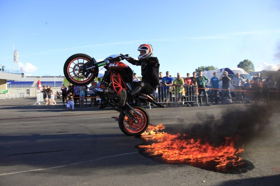 Ktm Bad Stunt Bike